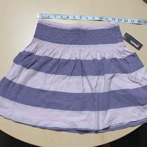 BRAND NEW Purple+Pink GARAGE skirt